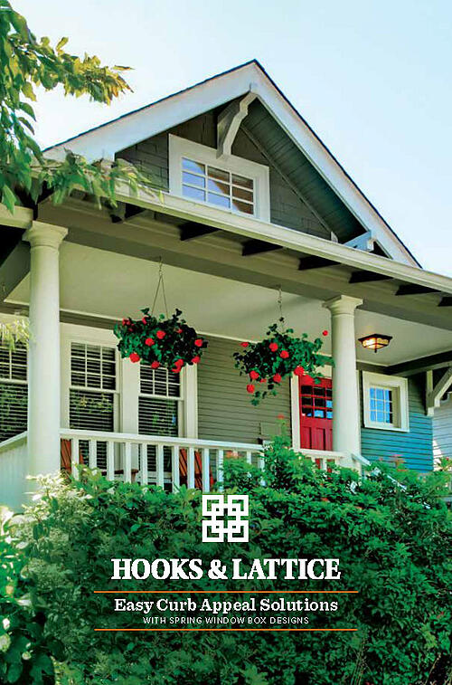 Hooks and Lattice Window Box Catalog Cover